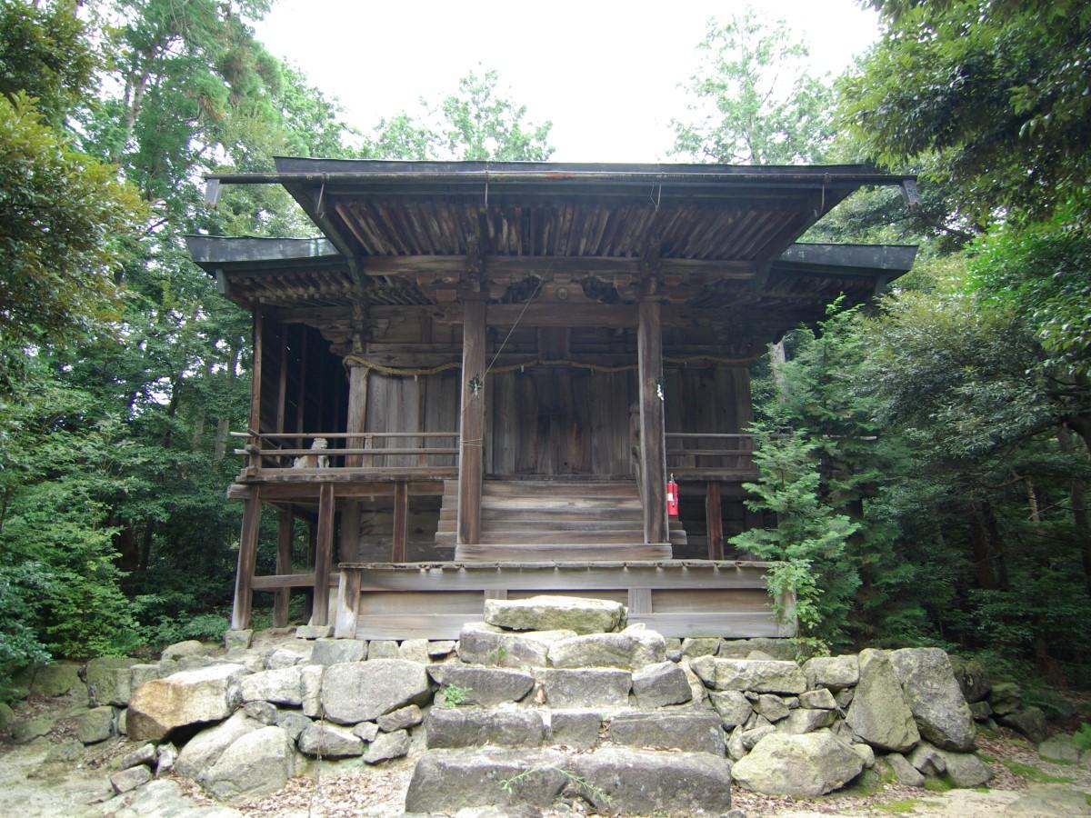 繖峰三神社(さんぽうさんじんじゃ)