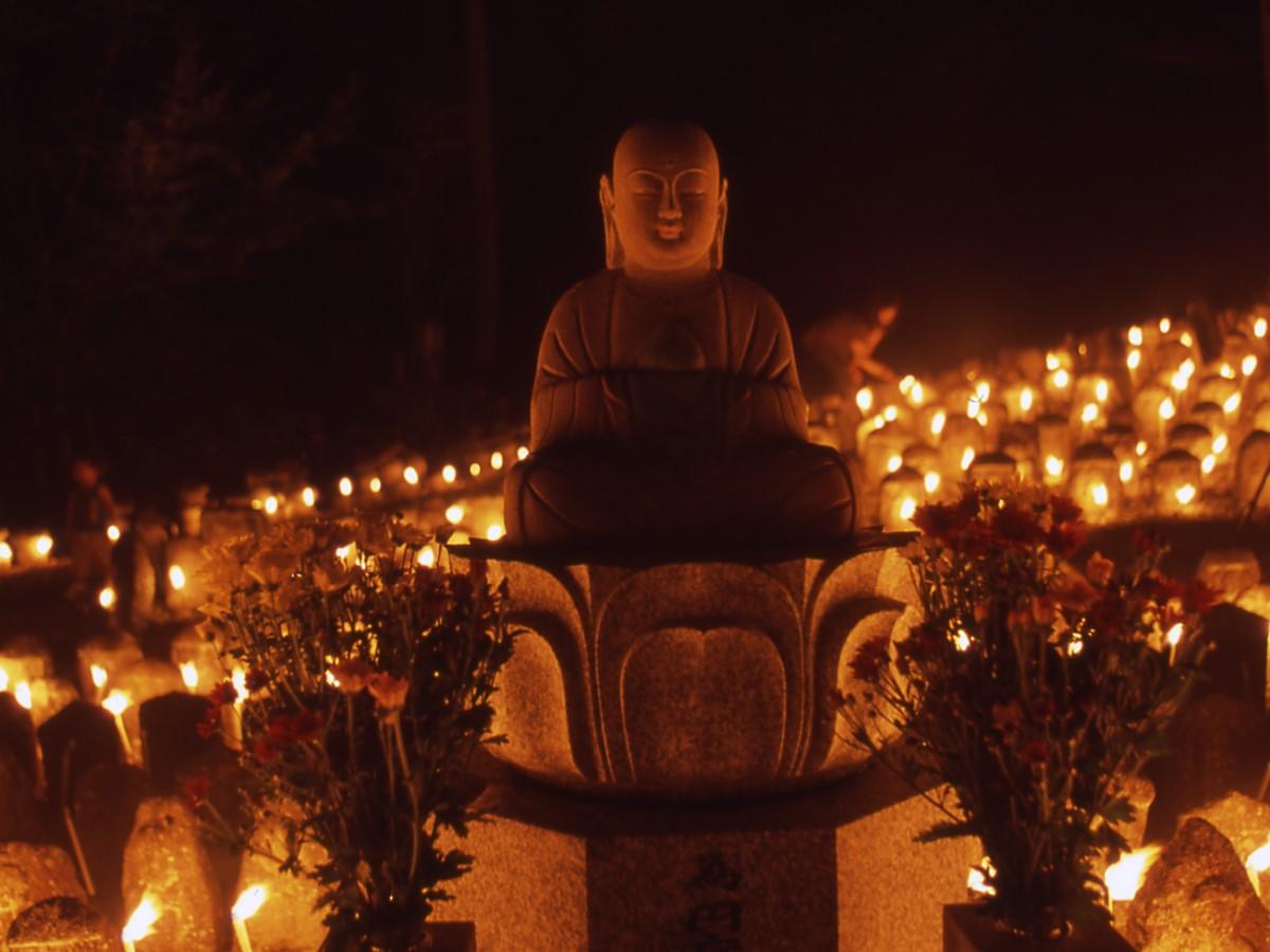 万燈供養(引接寺)