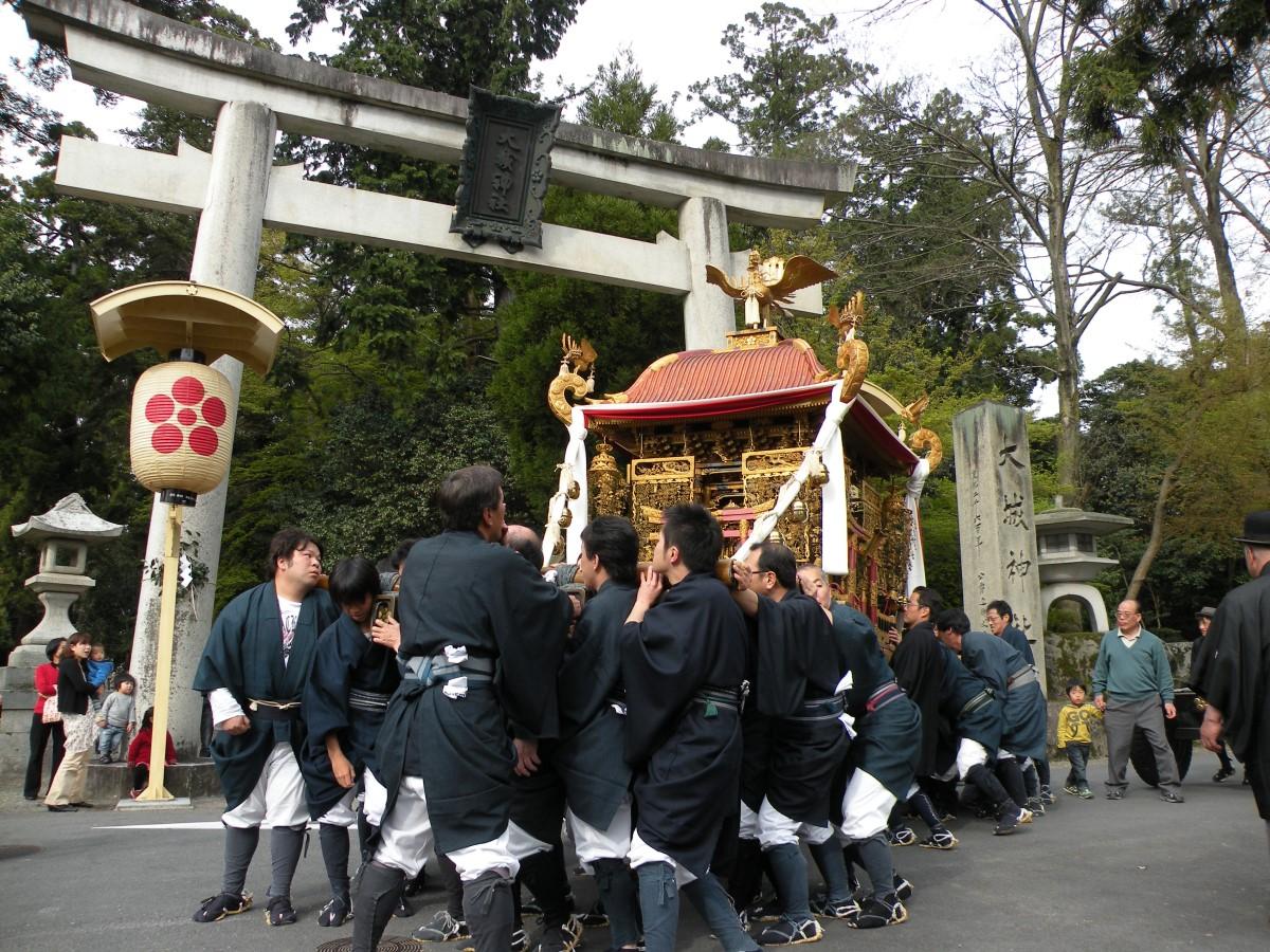 五箇まつり(金堂町)