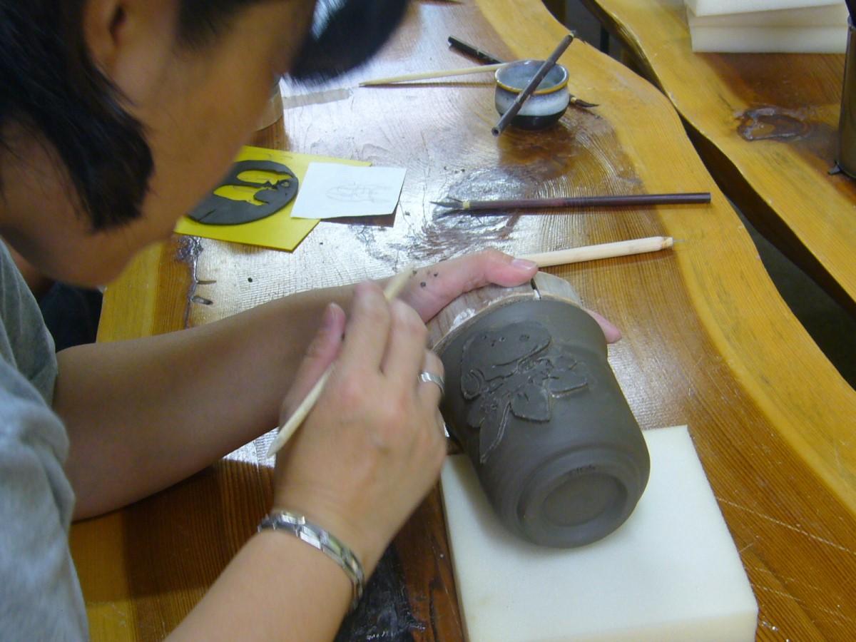 布引焼 陶芸教室